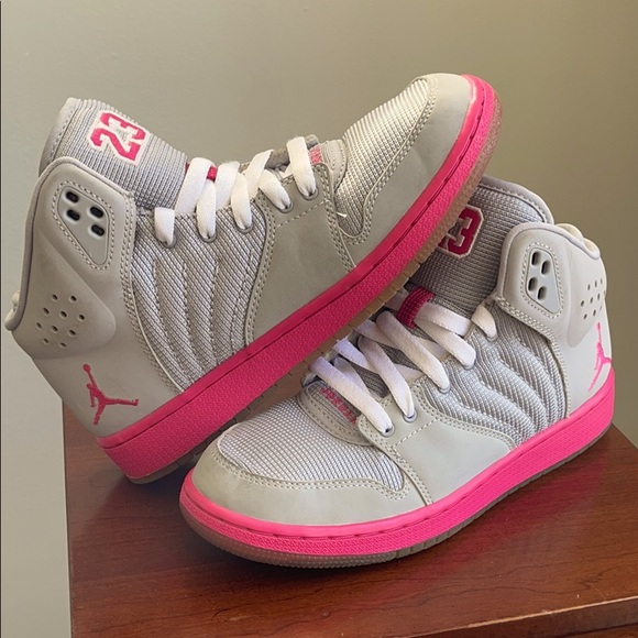 Nike Air Jordan 1 Flight 4 Girls High Top Sneakers